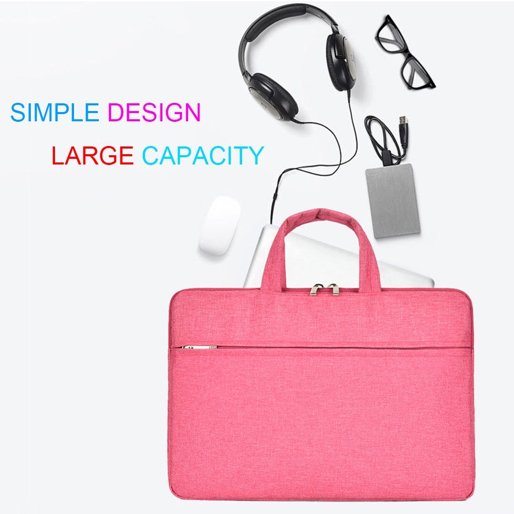 13 14 15 inch Fashion Dual Zipper Universal Polyester Shockproof Sleeve Case Laptop Bag Notebook Cover