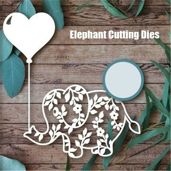 Elephant Cutting Dies Animal Metal Cutting Dies for Scrapbooking Die Cut Stitch Craft Dies New Die for 2019 Stencil.