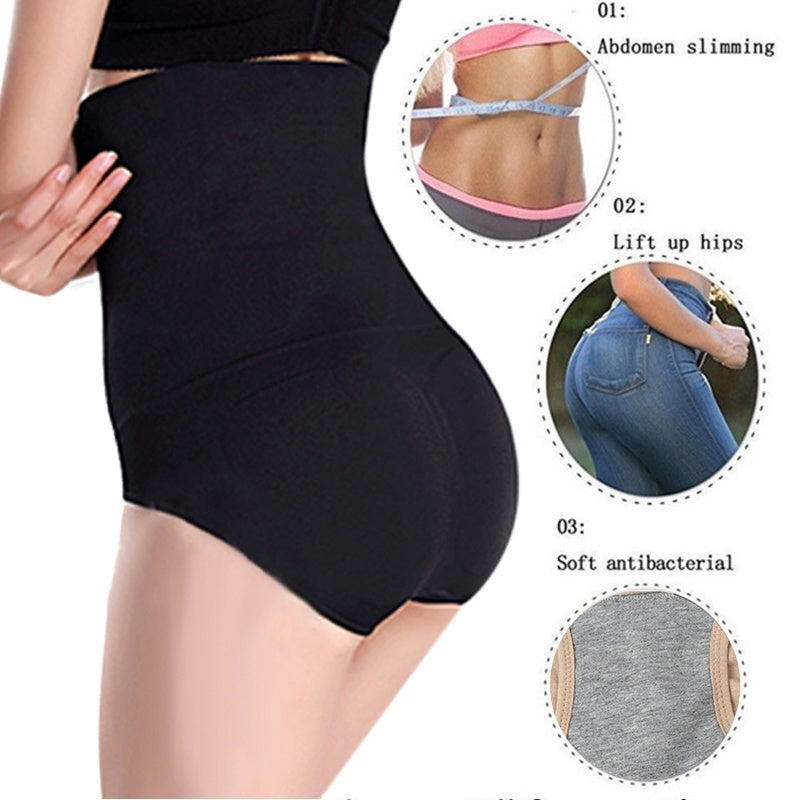 Newest Women's High Waist Trainer Tummy Lace Mesh Butt Lift Panties Shape Brief Seamless Underwear Tummy Control Corset Plus Size XS-4XL