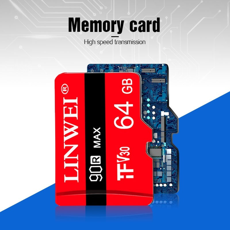 2019 Hign Speed  Memory Micro SD Card 64GB 32GB 16GB 8GB 1GB  Class 10 SDXC SDHC UHS-1 TF  Mini Sd Card