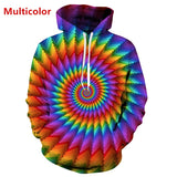Men Women Personality Hoodie 3D Print Fashion Long Sleeve Jacket