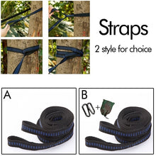 Load image into Gallery viewer, Home & Garden 2Pcs Adjustable Outdoor Tree Hanging Extension Hammock Straps Rope Belt