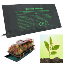 Load image into Gallery viewer, 52X24cm 110V 220V 18W Waterproof Seedling Heat Mat Seed Starting Germination Home Garden Supplies