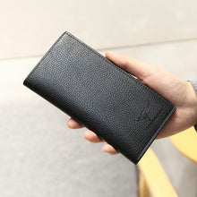 Load image into Gallery viewer, 2019 new men's fashion wallet long multi-card folding wallet