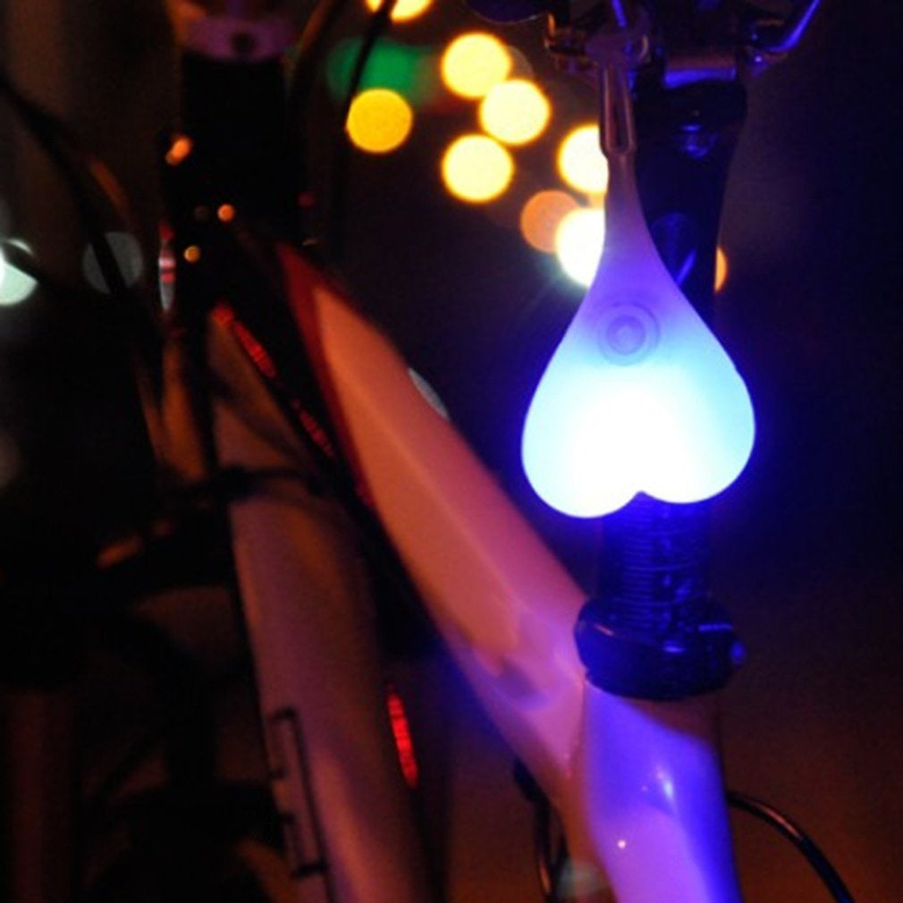Cycling Balls Tail Silicone Light Creative Bike Waterproof Night Essential LED Warning Lights Bicycle Seat Back Egg Lamp EIT
