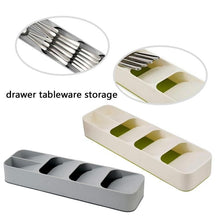Load image into Gallery viewer, Multi-Layer Adjustable Drawer Tableware Fork Cutlery Flatware Storage Box Organizer Home Kitchen  Divider Tool