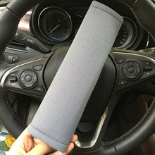 Load image into Gallery viewer, 2PCs Car Seat Belt Pad Cover Soft Car Safety Seat Belt Strap Shoulder Pad for Adults and Children