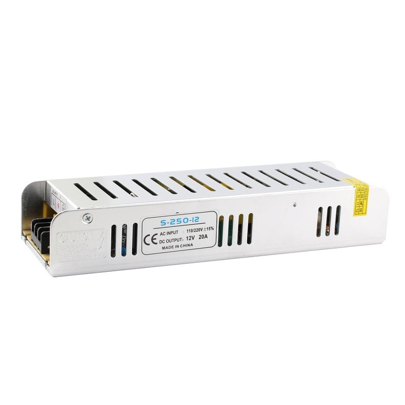 12V 24V Universal Long Lighting Transformers 3A 5A 8.5A 10A 12.5A 15A 20A 30A Power Supply LED Driver 36W 100W