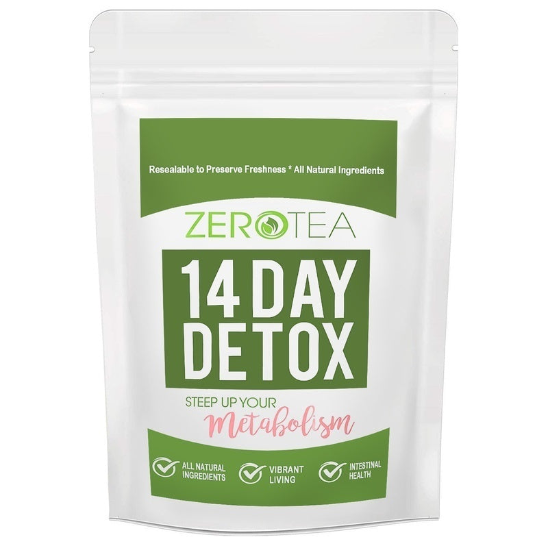 Weight Loss Detox Tea  Teatox Herbal Tea  Zero Tea for 7/14 28 Days to Reduce Bloating and Constipation