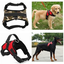 Load image into Gallery viewer, Fashion Dog Pet Explosion-proof Traction Chest Soft Adjustable Harness Vest Collar Hand Strap for Pet Walk Out Harness