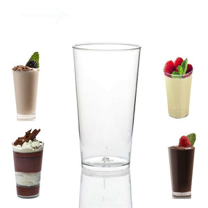 Jelly Party 3oz Dessert Shooters Drink Plastic Glass Shot Cups Mini Small