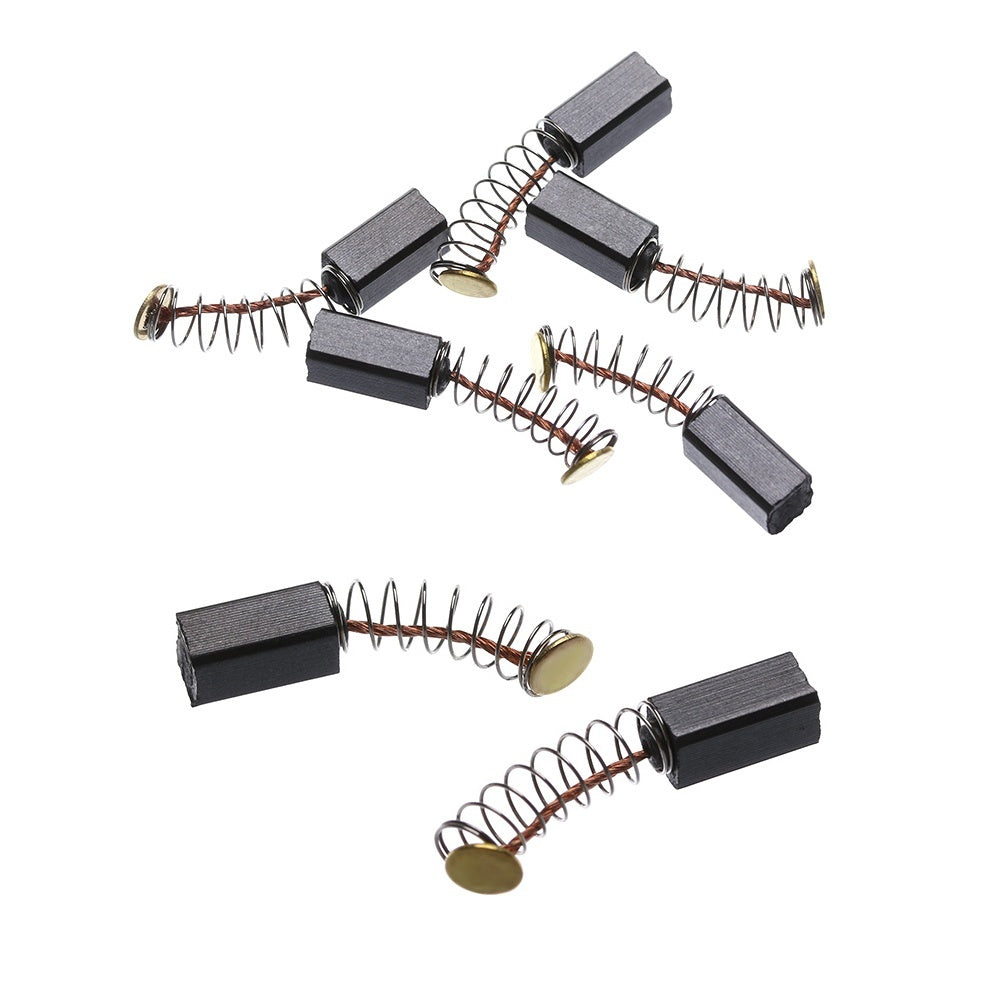 5/10Pcs New Accessories Rotary Tool Hand Tools Motors Spare Parts Mini Drill Electric Grinder Replacement Generic Carbon Brushes