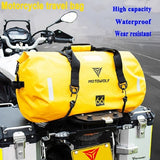 40L/66L/90L Large Capacity Motorcycle Riding Bag Waterproof Outdoor Travel Storage Bag Wear-resistant Luggage Bag Sports Fitness bag
