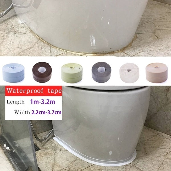 2019 PVC Material Sink Stove Crack Strip Kitchen Bathroom Bathtub Corner Sealant Tape Waterproof