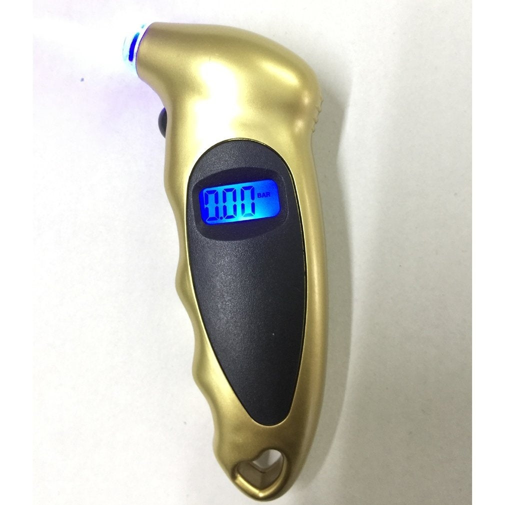 LCD Digital Tire Tyre Air Pressure Gauge Tester for Car Auto Motorcycle EIT