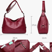 Load image into Gallery viewer, Soft Handbags Messenger Bags Shoulder Bag for Women Crossbody Bag