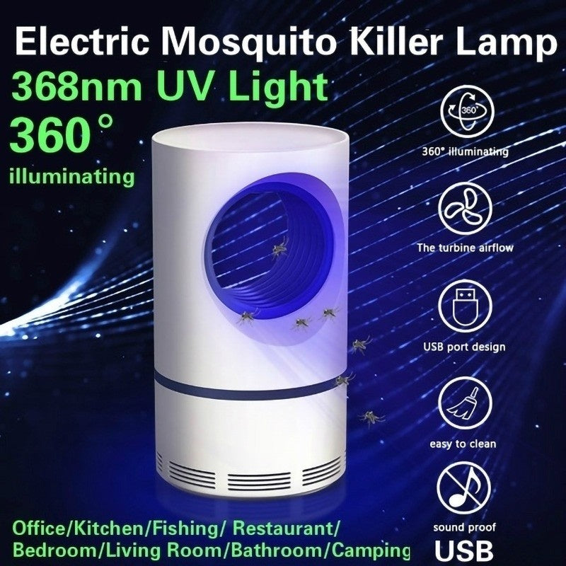 Electric Mosquito Killer LED Lamp Fly Mosquito Trap Light Anti Mosquito Insect Repellent Killer Pest Control Insect Repeller