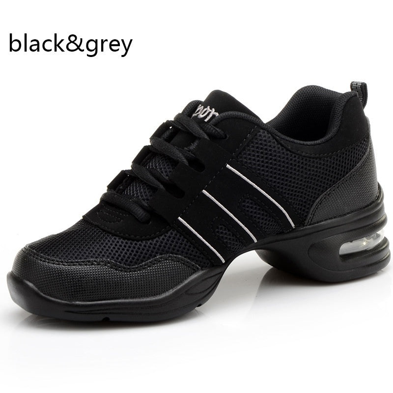 New 2019 Plus Size 4.5-10.5 Womens Jazz Dance Shoes Casual Breathable Fitness Shoes Sneakers