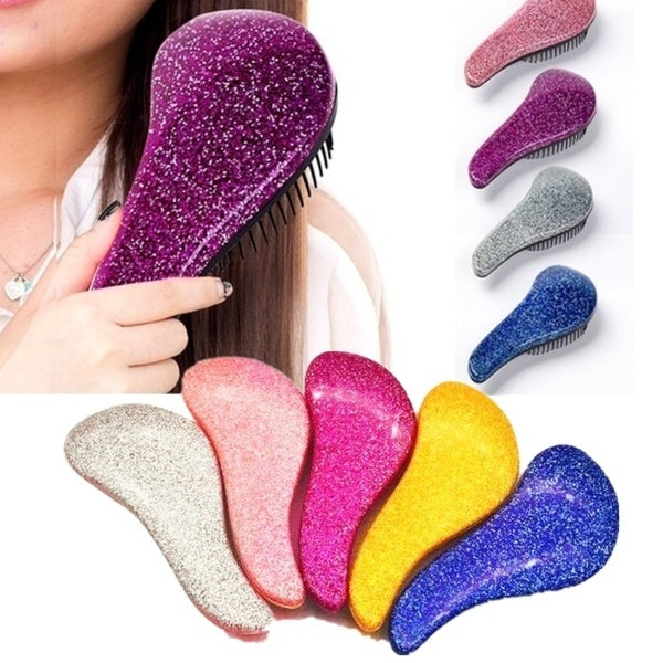 Magic Handle Comb Anti-static Hair Brushes Comb Tangle Detangle Shower Massage Salon Hair Beauty Styling Tools