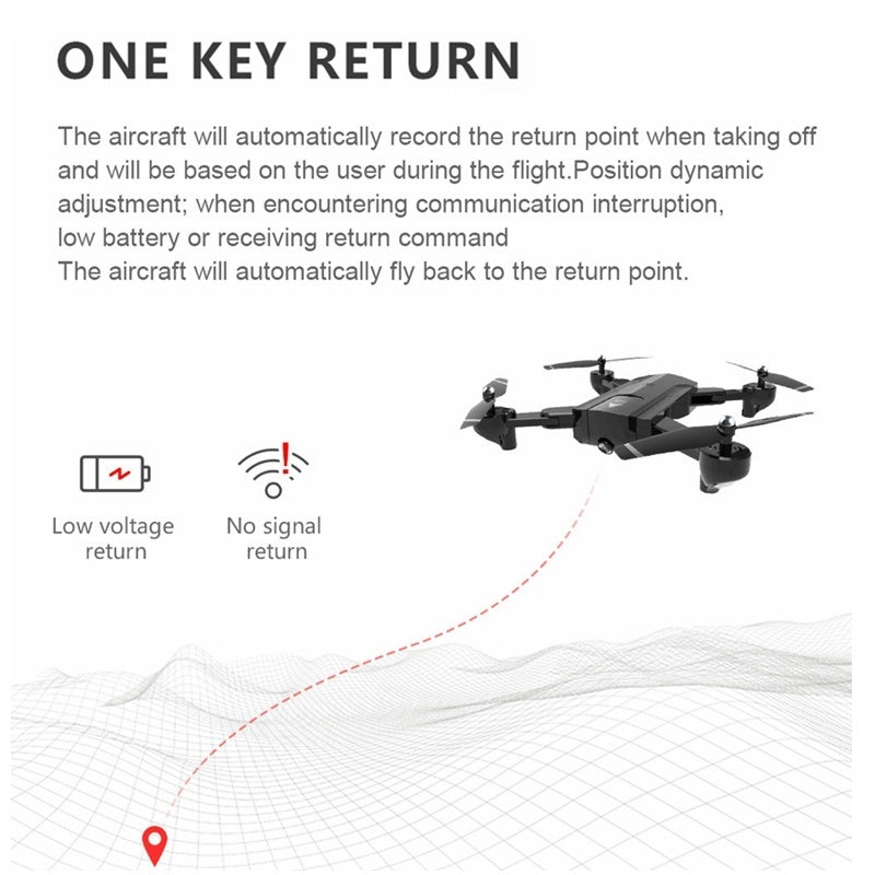 RC Drone SG900 Pro with 4K/ 720P/ 1080P Camera HD Dual Camera Aerial Camera Aircraft Gravity Sensing + Real-Time Transmission + Auto Follow + Mobile Control + Dual Camera Switching Remote Control Aircraft 1500mAh/ 2500mAh Battery Black and White Helicopte
