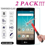 2Pack 9H Premium Tempered Glass Screen Protector For LG G5/G6/G6 Plus/G7 ThinQ/G8 ThinQ/V30/V30 Plus/V30S/V35/V40/V50 ThinQ/K4 (2017)/K8 (2017)/K10 (2017)/K4 (2018)/K8 (2018)/K10 (2018)/K30/K40/K50/Q6/Q6 Plus/Q7/Q7 Plus/Q8/Q60/W10/W30/W30 Pro/Stylo 3/Styl