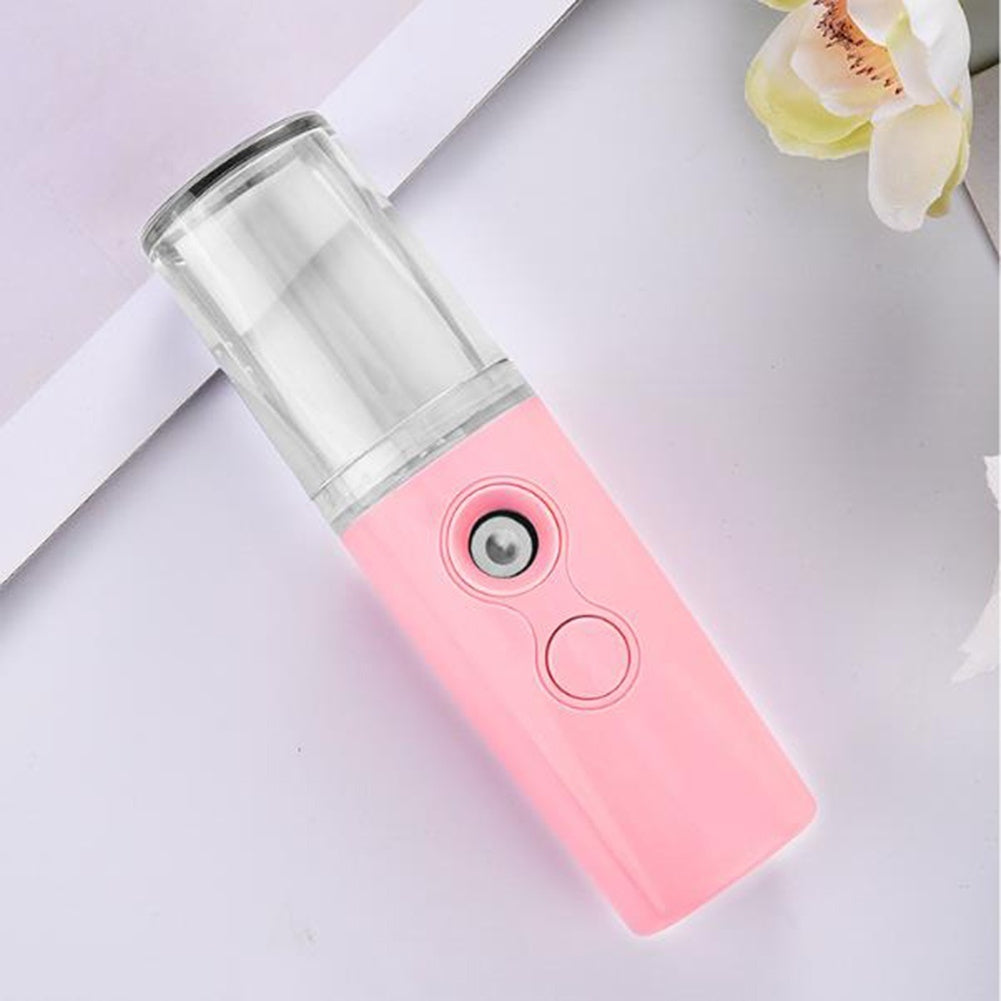 Facial Steamer USB Rechargeable Skin Moisturizing Nano Facial Sprayer Water Hydrator Face Humidifier Beauty Skin Care
