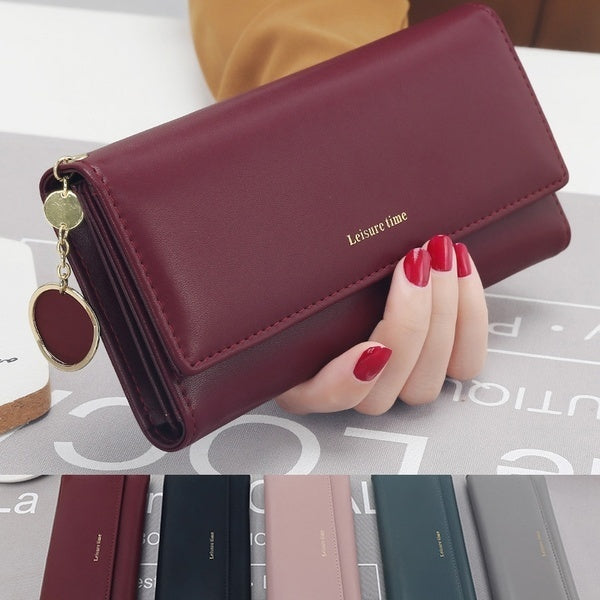 Newest Women Fashion Large Capacity Wallet Female Pocket Long Purse Party Handbags Mini Purse Card Holder