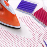 4Pcs/8Pcs High Temperature Disappear Marker Pen Fabric PU Leather Garment- Professional Ironing Heating Disappear Refill