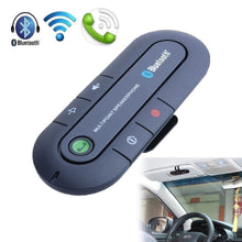 Load image into Gallery viewer, Bluetooth 4.1 Wireless Handsfree Magnetic Slim Car Kit Speaker Phone Sun Visor Clip (3 Color)