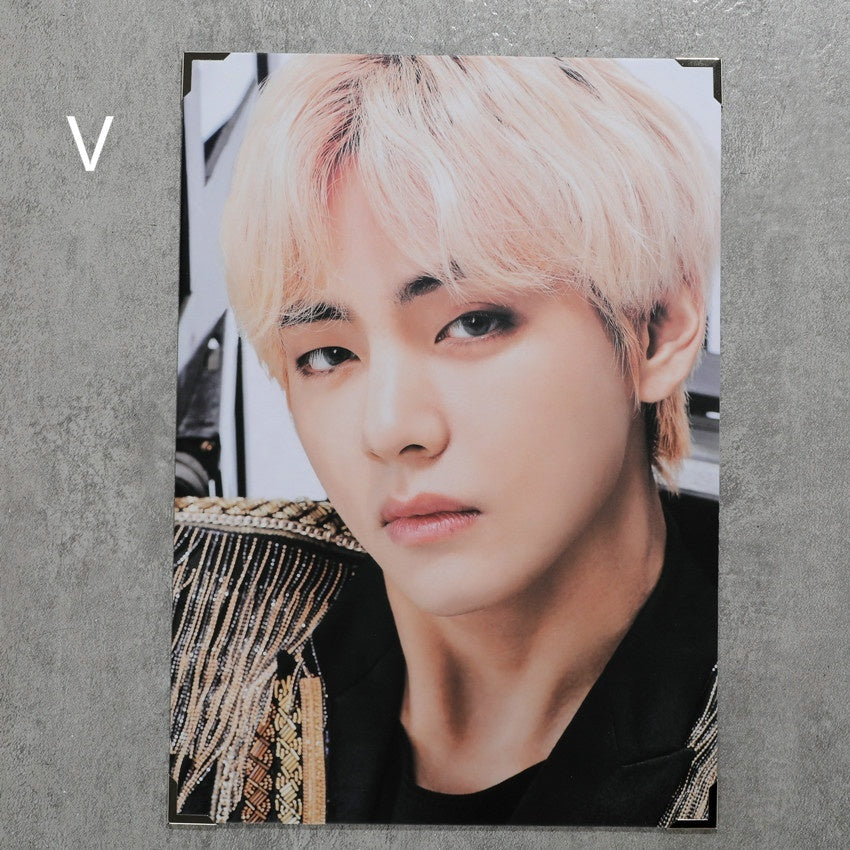 34*24CM Kpop BTS Official Photo Frame LOVE YOURSELF Album Photo Cards Bangtan Boys Fans Gift