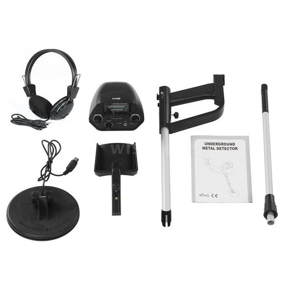 The treasure of the dragon is waiting for you to explore! Professional new upgrade MD 4030 high sensitivity underground adjustable detector treasure hunter tracker metal circuit detector with headphone shovel (optional)! Buy it is to earn! !