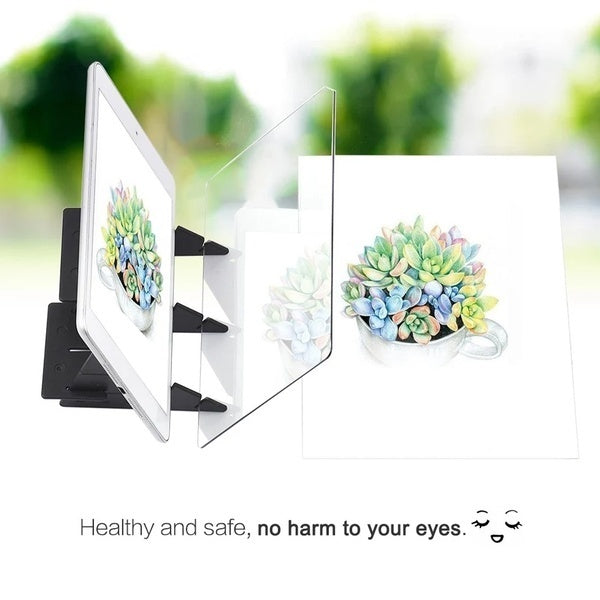 New Portable Optical Drawing Projector Painting Tracing Board Sketch Drawing Board
