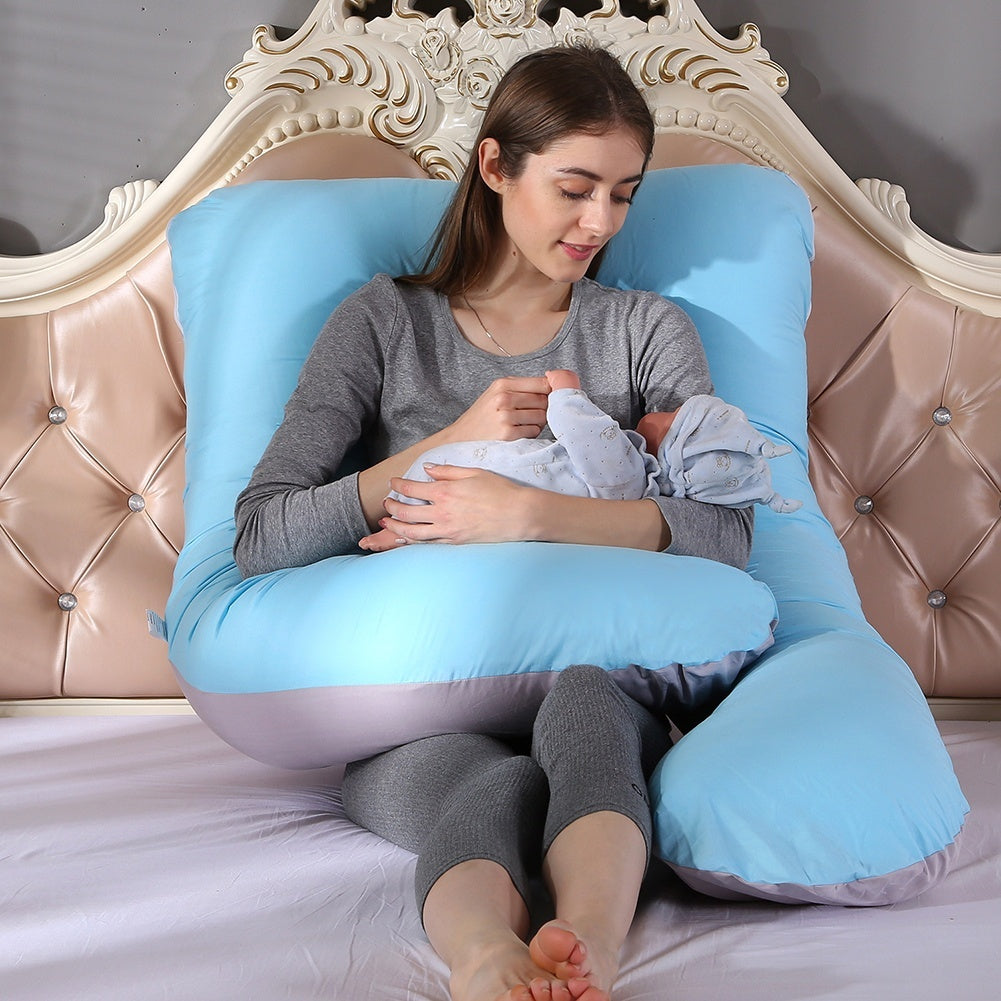 U Shaped Pregnant Women Sleeping Support Pillow Sleeping Care