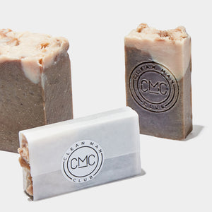 Clean Man Club - HAND MADE CHOCOLATE OLIVE OIL SOAP