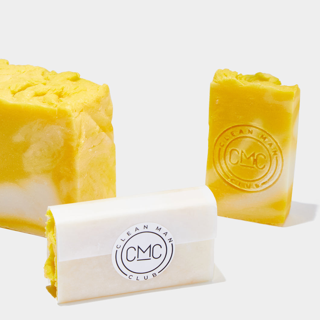 Clean Man Club - HAND MADE LEMON OLIVE OIL SOAP