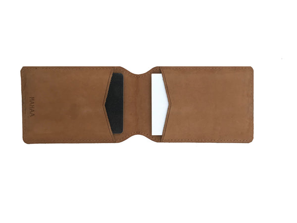 MAHAA Hand Crafted  Leather Card Holder
