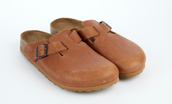 Birkenstock Leather Boston Clog