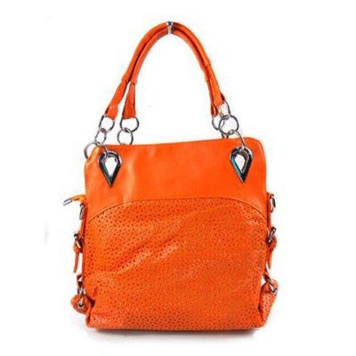 BBW Collection Orange 2 Way Town Bag - BEST BUY WORLD MALAYSIA