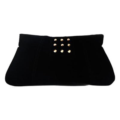 BBW Collection Black Studded Pouch - BEST BUY WORLD MALAYSIA