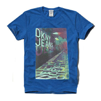 DKNY DKNY JEANS Cotton Blue Shirt - BEST BUY WORLD MALAYSIA