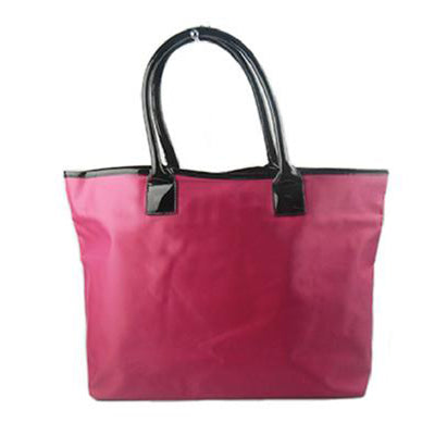 BBW Collection Hot Pink With Black Handle Bag - BEST BUY WORLD MALAYSIA
