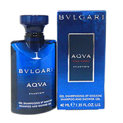 BVLGARI AQVA POUR HOMME Atlantique Shampoo & Shower Gel (40ml) - BEST BUY WORLD MALAYSIA