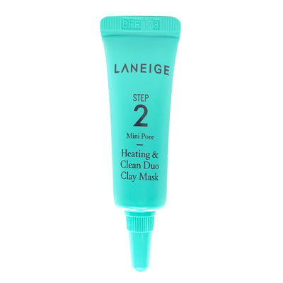 LANEIGE MINI PORE Heating & Clean Duo Clay Mask Step 2 (3ml) - BEST BUY WORLD MALAYSIA