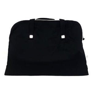 LANCÔME Black Handle Bag with White Lining Top Zipper - BEST BUY WORLD MALAYSIA