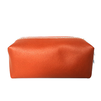 ESTĒE LAUDER Brown Faux Leather Pouch By Amba Locke - BEST BUY WORLD MALAYSIA