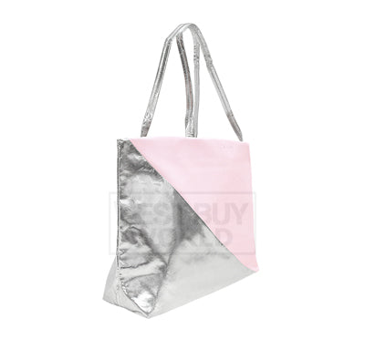 CALVIN KLEIN REVEAL Salmon Pink and Silver Shopping Bag - BEST BUY WORLD MALAYSIA