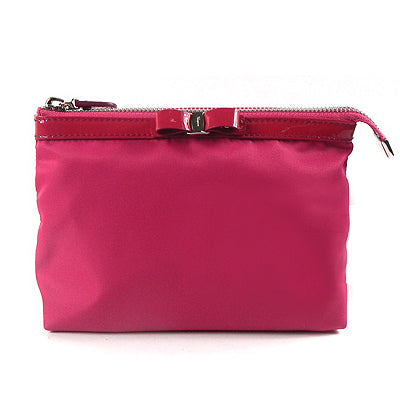 Salvatore Ferragamo Pink Cosmetic Pouch - BEST BUY WORLD MALAYSIA