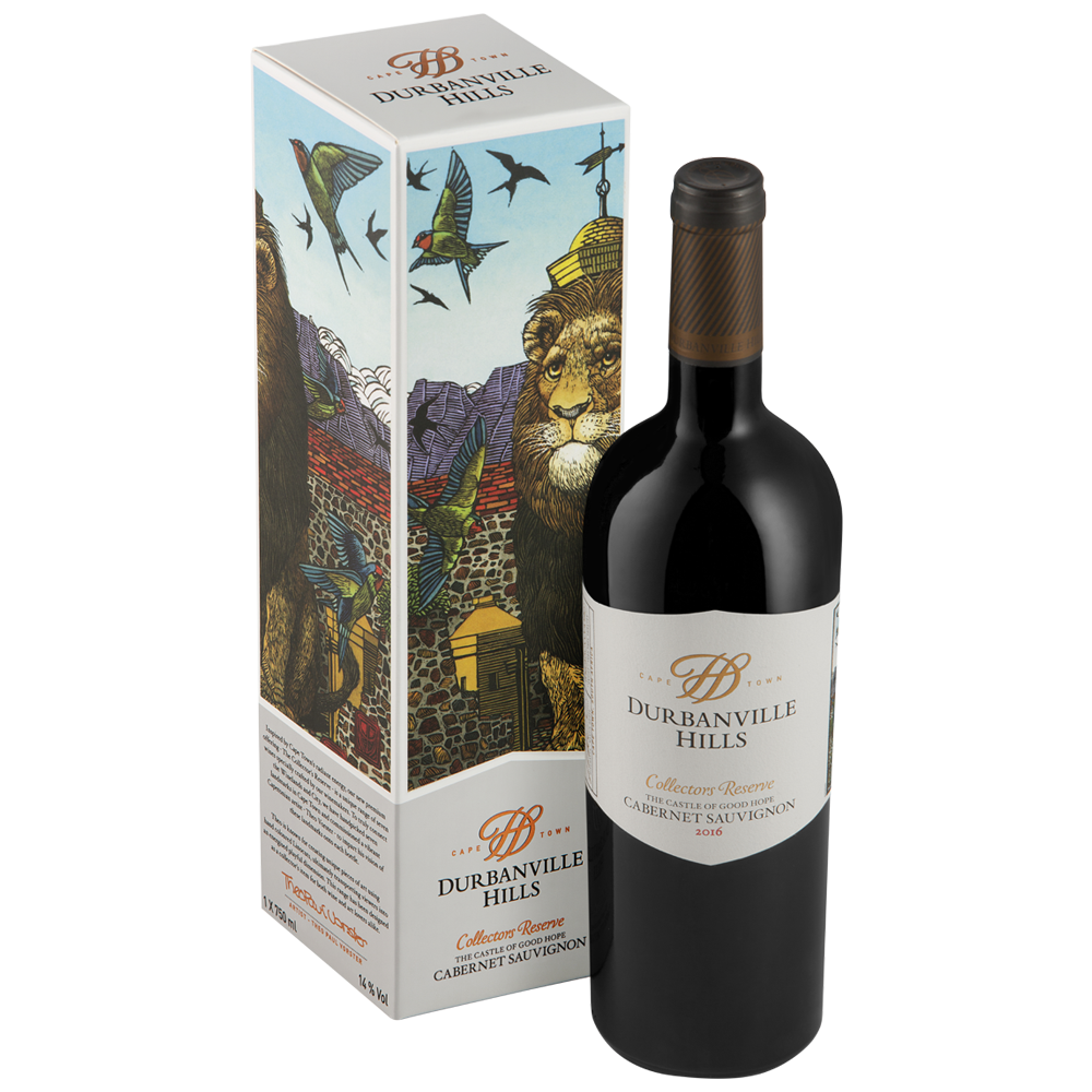 Gift Box - Collectors Reserve The Castle of Good Hope Cabernet Sauvignon