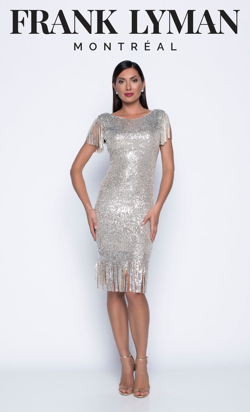 Frank Lyman Roaring 2020's Cocktail Dress