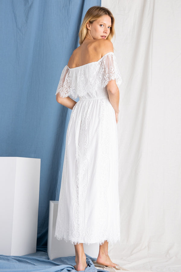 Ann Marie's Boutique Lace For Days Maxi